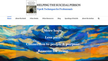 HelpingTheSuicidalPerson.com: A New Website for Professionals